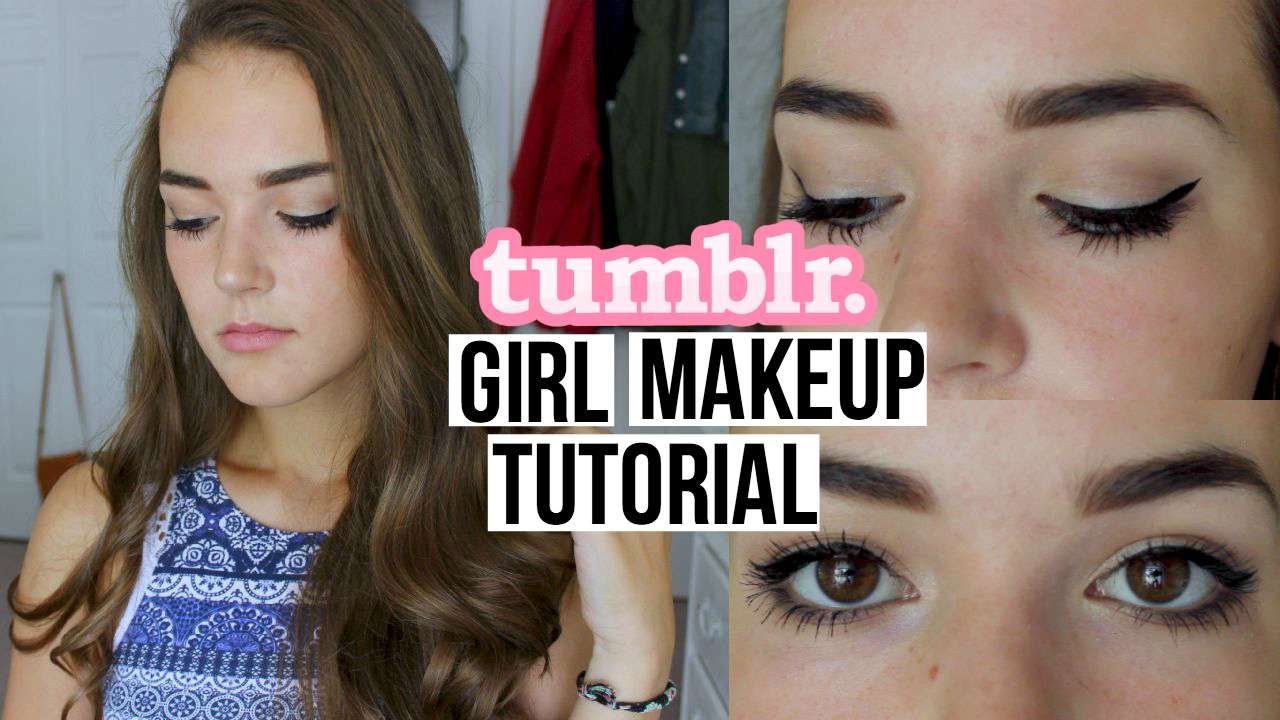 tumblr girl makeup tutorial reese regan youtube