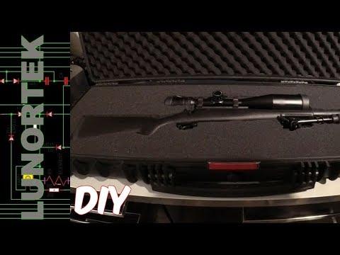 Tsunami Rifle Case and DIY Hot Knife Foam Cutter