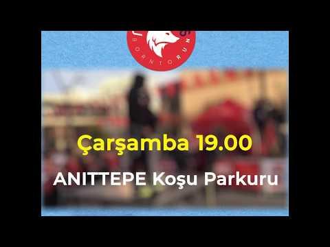 5 Şubat Çarşamba günü Anıttepe Koşu Parkurunda buluşalım