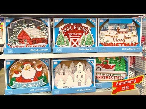 NEW 2019 WALMART CHRISTMAS DECORATIONS ORNAMENTS WREATHS CHRISTMAS SHOPPING STORE WALK THROUGH