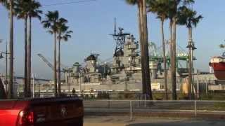 USS IOWA Arrives At Its New Home In San Pedro, CA