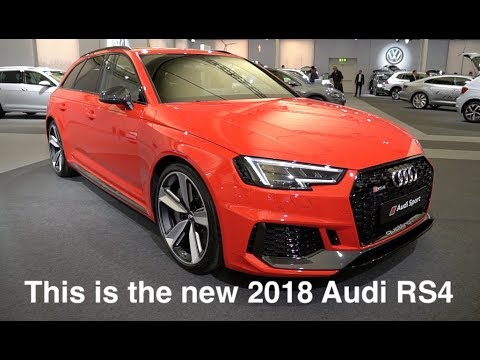 This is the new 2018 Audi RS4