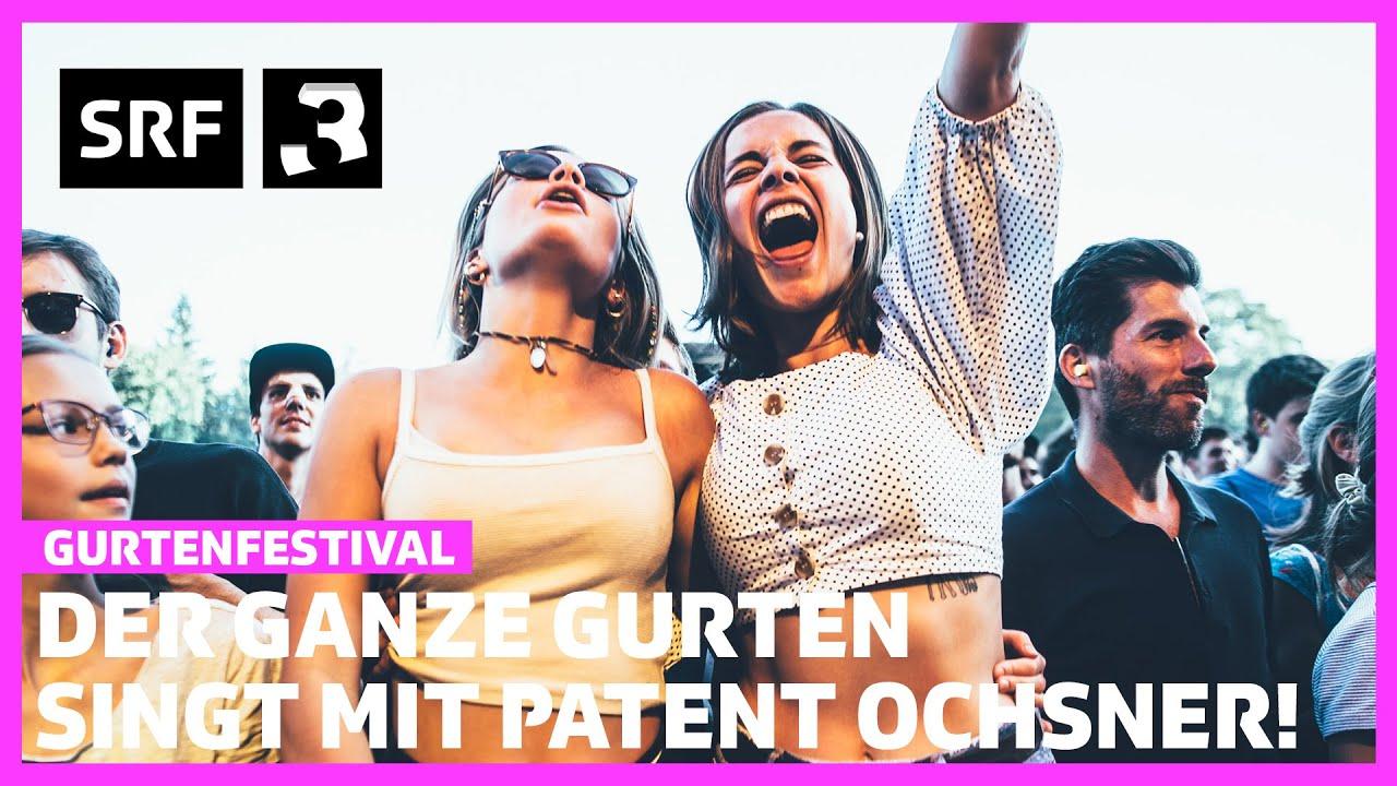 Gurtenfestival: Der ganze Gurten singt mit Patent Ochsner l Festivalsommer 2020 l Radio SRF 3