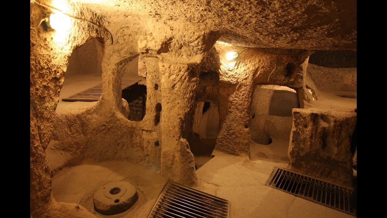 Nevşehir yeraltı şehri kaymaklı, Kaymakli Underground ...