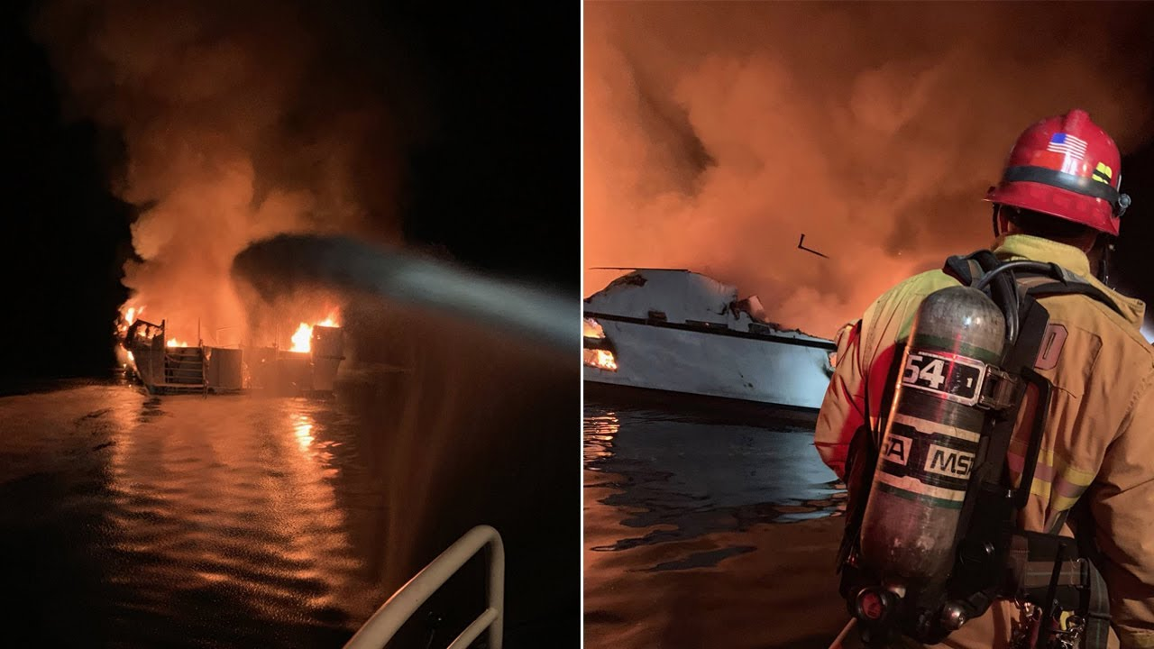 Southern California boat fire death toll jumps and several still missing