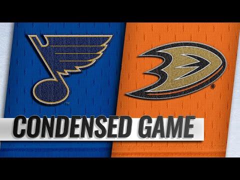 01/23/19 Condensed Game: Blues @ Ducks
