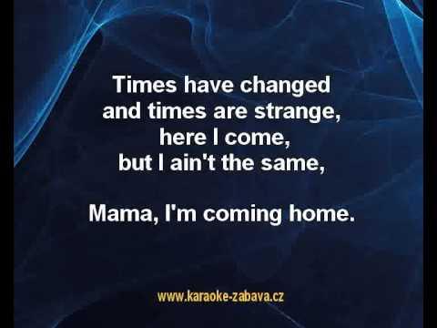 Mama I M Coming Home Ozzy Osbourne Karaoke Tip Youtube