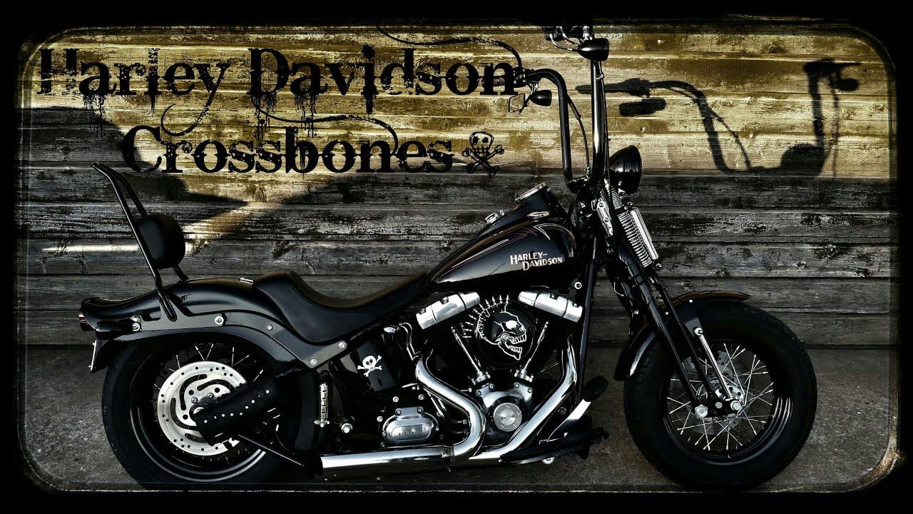 harley davidson crossbones ride with gopro hero3 black