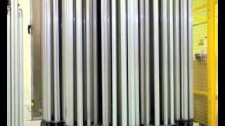 Cromatura reparto produttivo Novellini
