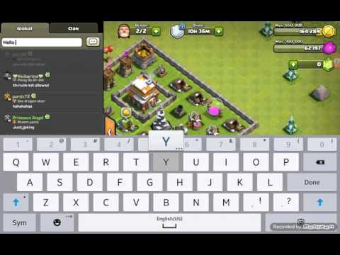 Clash Of Clans- Removing Obstacles