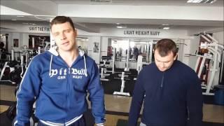 �������� ���� Тренировка грудных мышц в Animal Gym ������