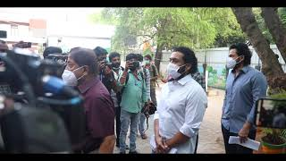 TN Elections 2021 | Suriya, Karthi and thier Family Cast their vote.