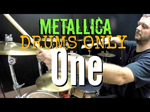 METALLICA - One - Drums Only