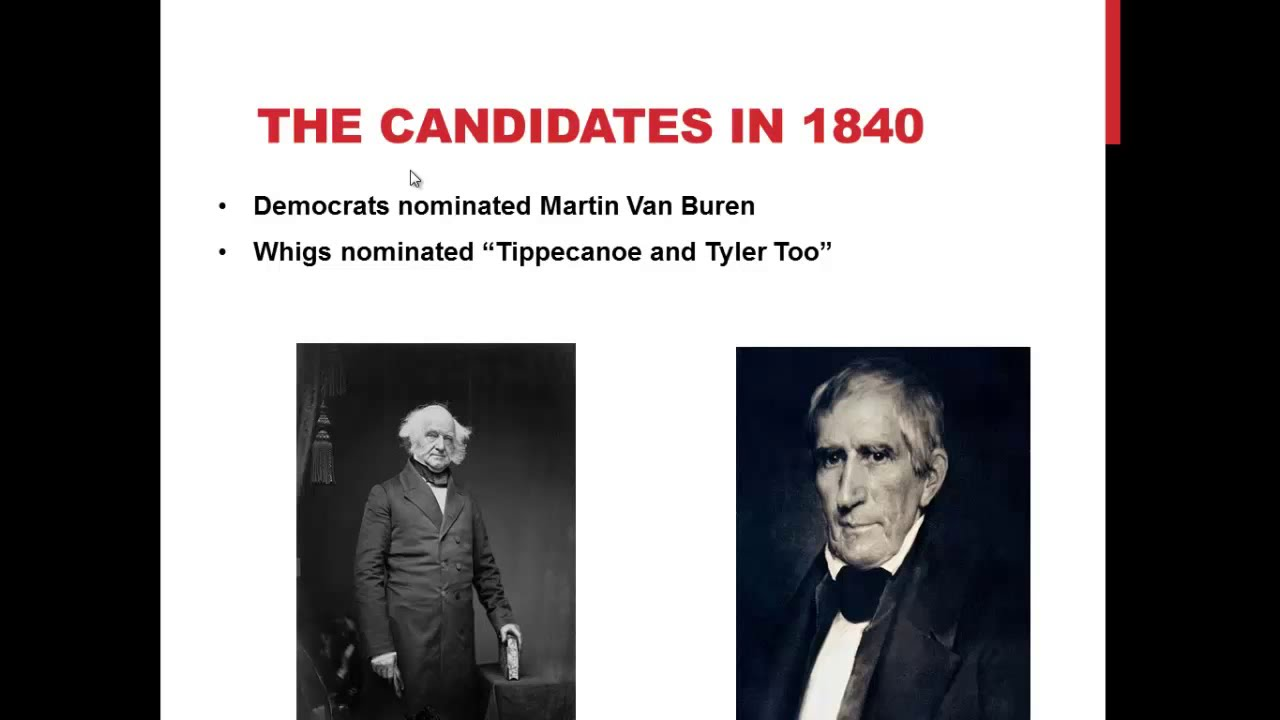 APUSH Review: The Election of 1840