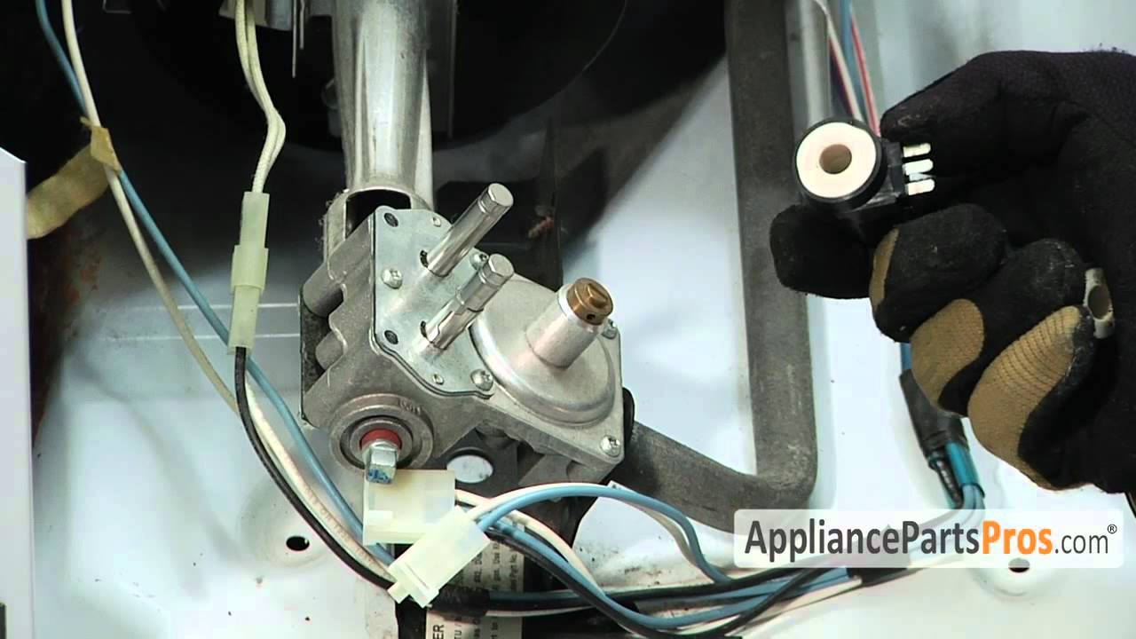 Dryer Gas Valve Wiring Diagram Block And Schematic Diagrams For Roper Coils Part 279834 How To Replace Youtube Rh Com Whirlpool Electric