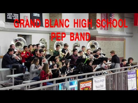 Land of 1000 Dances, Uptown Funk, Eye of the Tiger, GB Fight Song Grand Blanc HS Pep Band