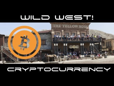 Cryptocurrency Wild West!! Most of You Are Pioneers