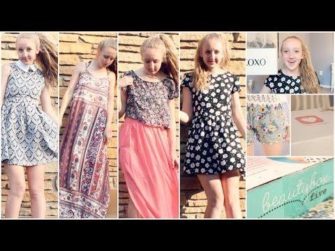 HUGE Summer Haul! (Love Culture, Sammydress, Boxycharm, & More!) + Giveaway!