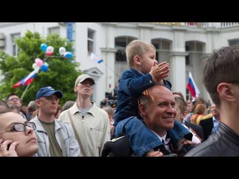 День Победы в Севастополе. Крым 2014, 9 мая.