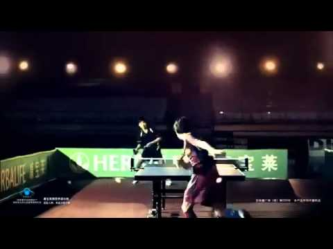 Messi Playing Pingpong For Herbalife Advertisement