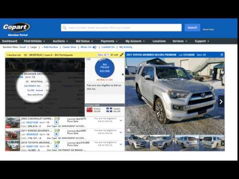 Copart Canada Auction Crazy Deal on SUV