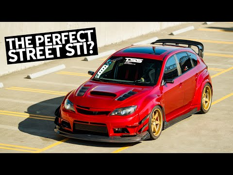 Canada's Ultimate Subaru Impreza STI Street/Track Car Build, With NSX Candy-Red Paint