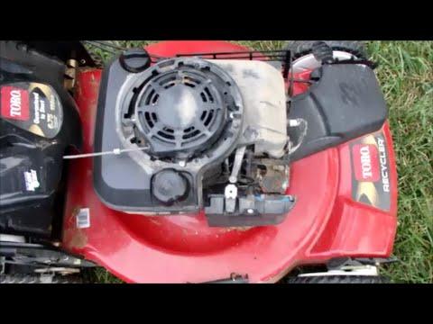 Toro Recycler Lawn Mower Model 20330 - Choke Fixed It's Alive Again! Part  II - July 27, 2015