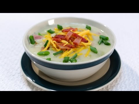 How to Make Potato Soup | Easy Ham and Potato Soup Recipe