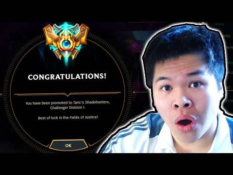 BACK TO CHALLENGER, WITH MORE LP THAN EVER. - Challenger to RANK 1