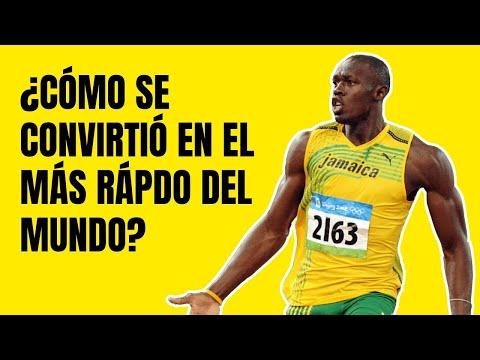 La Historia de Usain Bolt: El Hombre Más Rápido del Mundo 💪
