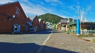 日本屈指の美しい港町   北海道函館市の赤レンガ倉庫群 - 4K UHD