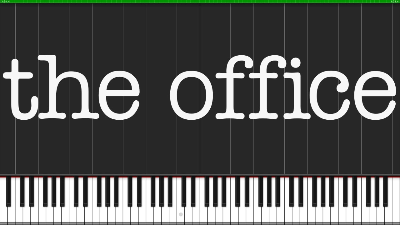 office theme piano