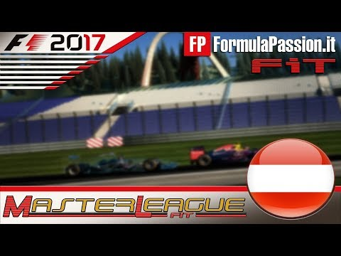 Master League FormulaPassion.it F1 2017 #09 GP Austria Red Bull Ring 14.12.17 - Live Streaming 1080p