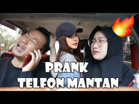 PRANK MANTAN TELFON MAU  MAIN KERUMAH. BEGINI REAKSINYA ISTRI. PERANG DUNIA #4