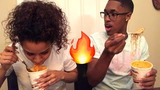 SPICY ???? NOODLE CHALLENGE ! (HILARIOUS) must watch