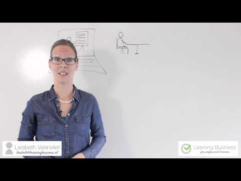 Flipped Classroom - Liesbeth Veenvliet van Learning Business