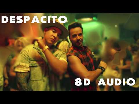 Despacito - Luis Fonsi & Daddy Yankee Ft. Justin Bieber ( 8D SURROUND AUDIO 🎧 )