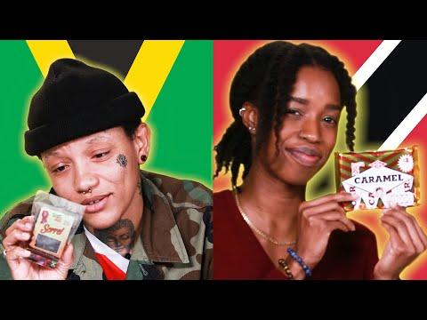 Jamaicans & Trinidadians Swap Snacks