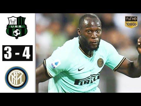 Sassuolo Vs Inter Milan 3-4 - All Gоals & Extеndеd Hіghlіghts 2019