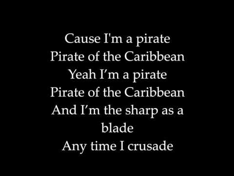 Chris Martin: Pirates of the caribbean Lyrics