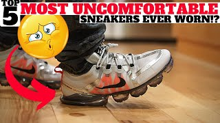 MOST UNCOMFORTABLE SNEAKERS EVER? 100 People Answer!