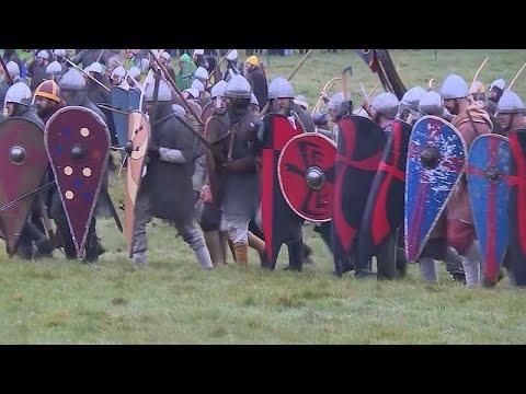 شاهد: انجلترا وفرنسا تحاكيان التاريخ من خلال معركة هاستينغز…  - نشر قبل 4 ساعة