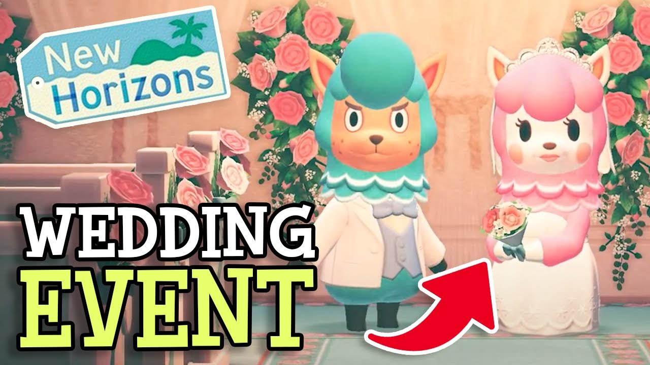 Animal Crossing New Horizons Wedding Season Event Everything We Know About The Update All Items Youtube