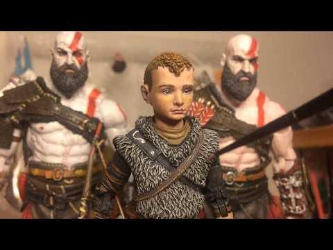 NECA Custom Figures - Kratos and Atreus VLOG