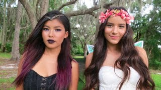 Dark and Light Fairy Makeup Tutorial