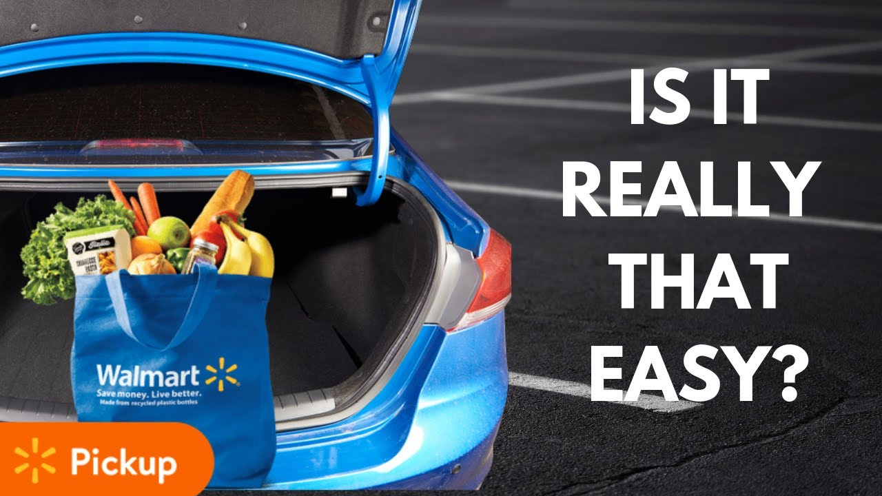 Walmart free grocery pickup: 7 things to know before your