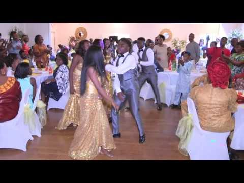 Best Congolese wedding in North Carolina ~ Erick and Valeriene