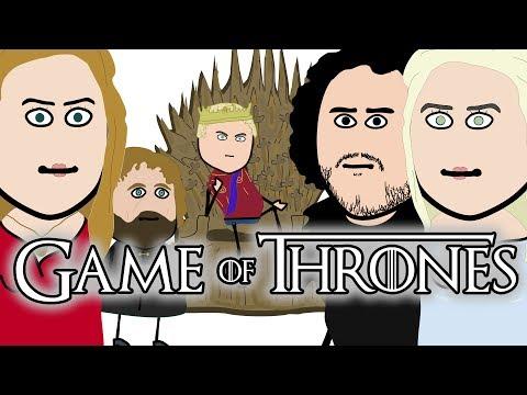GAME OF THRONES ( Il Trono di Spade ) - Parodia Animata