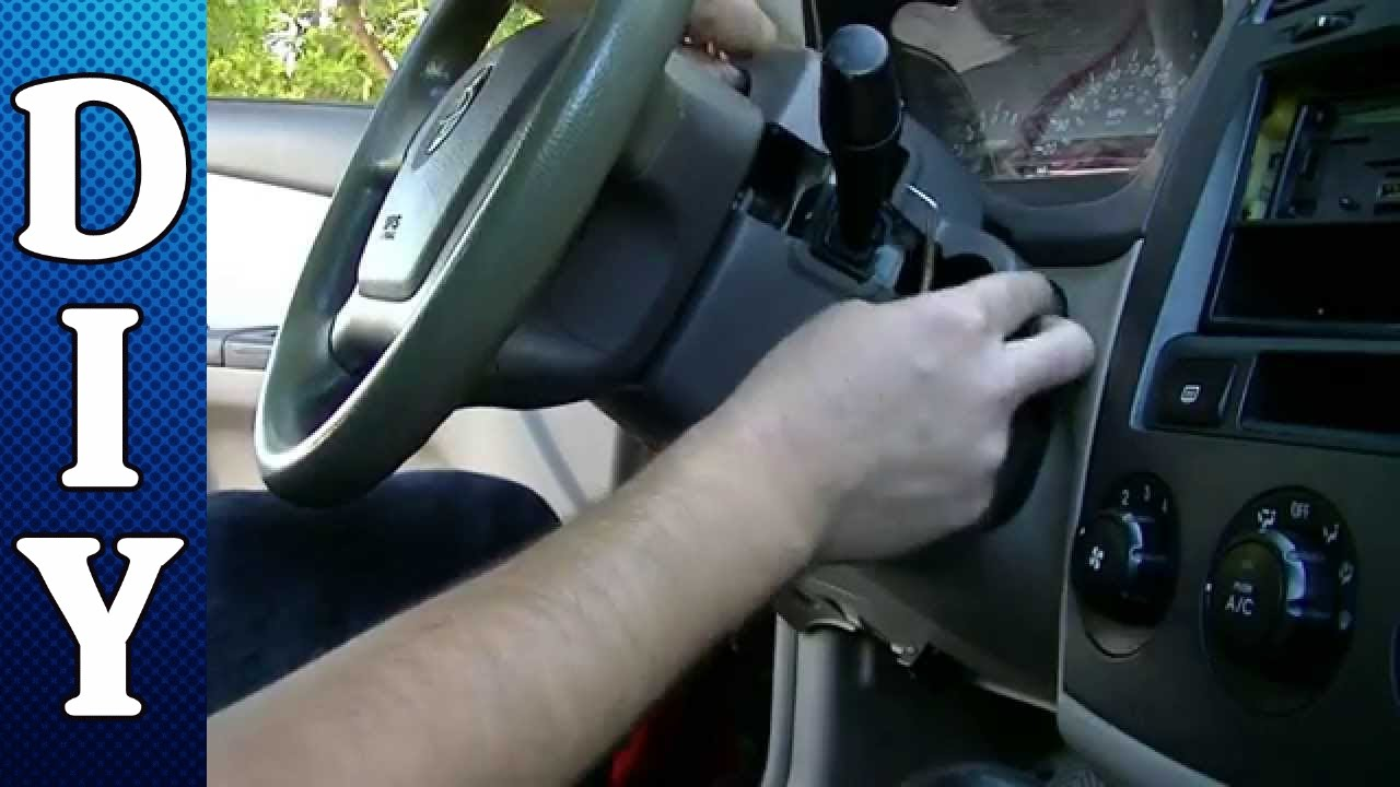 hight resolution of how to remove and replace an ignition lock cylinder kia spectra youtube