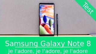Test : Samsung Galaxy Note 8 - Un véritable coup de coeur